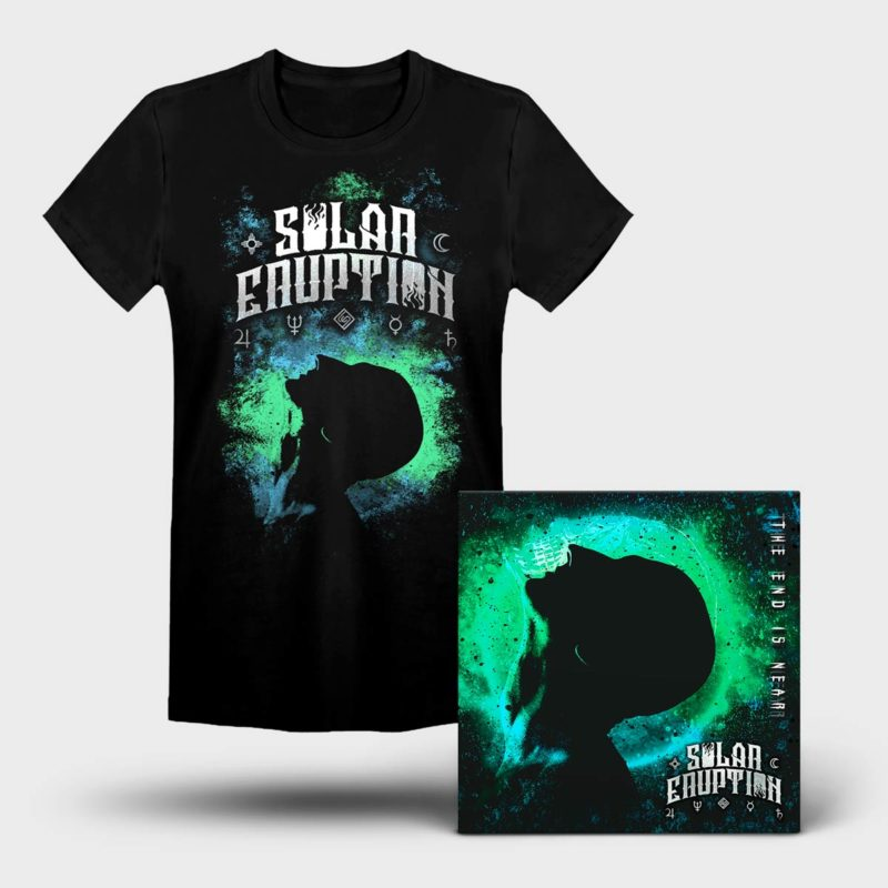 Solar Eruption - The End Is Near BUNDLE (T-shirt + EP)
