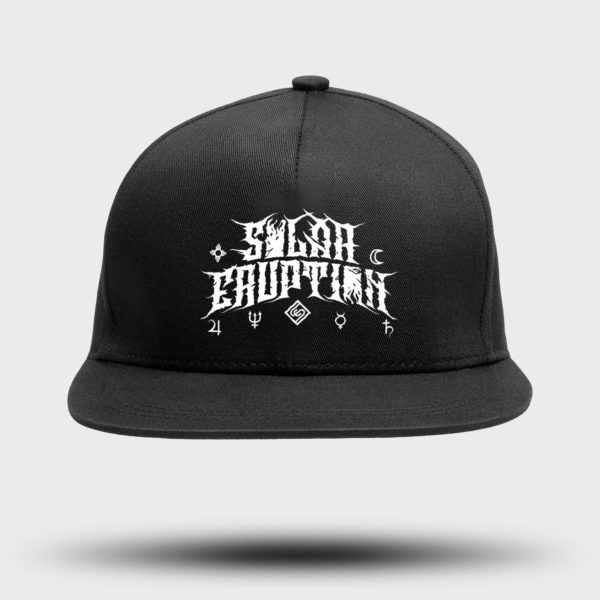 Snapback cap SOLAR ERUPTION