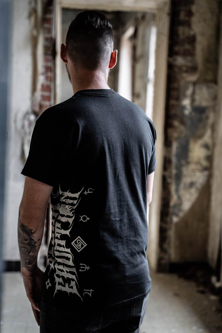 SOLAR ERUPTION - Side Logo Tshirt BACK