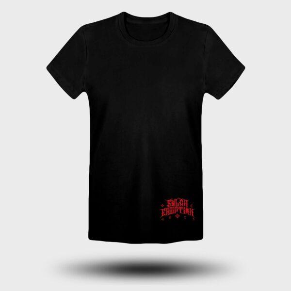 SOLAR ERUPTION - Red Apocalypse tshirt FRONT