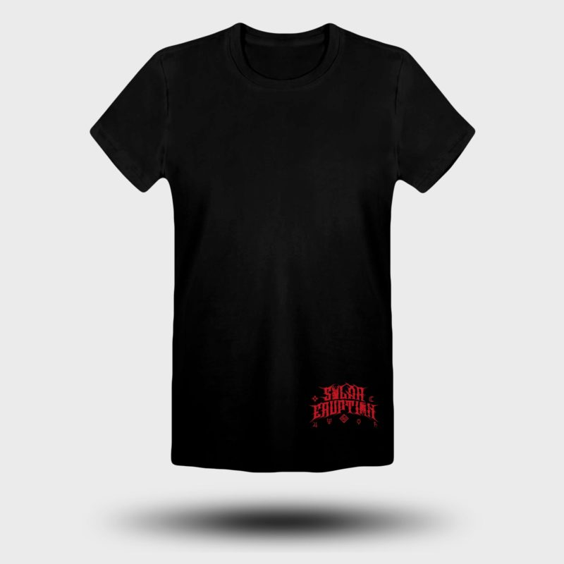 SOLAR ERUPTION - Red Apocalypse tshirt FRONT